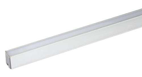 WAC Lighting LED-T-CH1 Contemporary Deep Aluminum Tape Light Channel by WAC Lighting