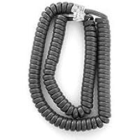12 Ft. Med. Gray Handset cord (5/pk)