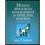 Human Resource Management for Effective Schools, Seyfarth, John T., 020533363X