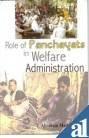Role of Panchayats in Welfare Administration, Abraham Mathew, 8178354500