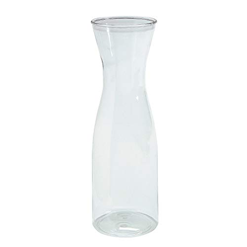 (Clear Plastic Wine Carafe)