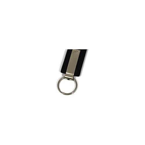Au-Tomotive Gold INC Dodge Ram Black Leather Key Fob Authentic Logo Key Chain Key Ring Keychain Lanyard KC1540.RAM