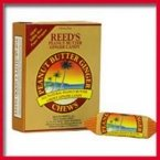 Reed'S Ginger Beer Peanut Butter Ginger Chews ( 20x2 OZ)