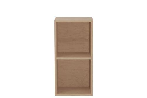 (urbangreen furniture maple unfinished Double Media Cube)
