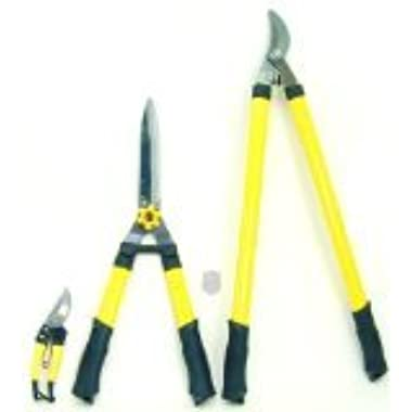 H.B. Smith Tools 3-Piece Ratchet Pruner Set for Lawn and Garden
