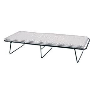 Steel Cot With Mattress G23 By Stansport