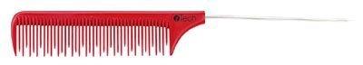 iTech Metal Rat Tail Comb, -