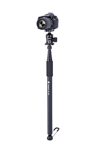 Fotopro AK-86N 111-Inch Aluminum Lightweight Ispeedy Monopod w/ Detachable Platform and Rubber Feet (Fits for 1/4''-20 and 3/8''-16 conversion Screw) by Fotopro (Image #1)