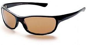 Serengeti 6752 Cascade Sunglasses Drivers Lens Shiny Black