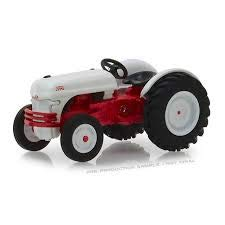 1947 Ford 8N Tractor White and Red Down on The Farm Series 1 1/64 Diecast Model by Greenlight 48010 A