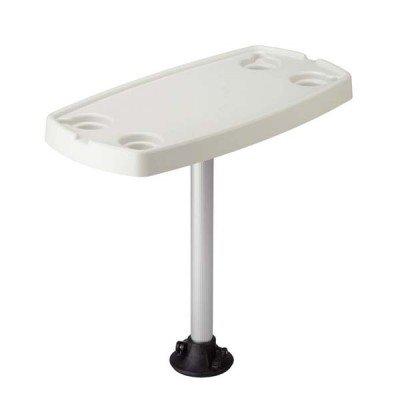 AMRG-75321 * Garelick Rectangular Stowable Table (Garelick Pontoon Boat)