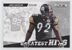 James Harrison (Football Card) 2012 Panini Rookies & Stars - Greatest Hits #22
