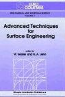 Advanced Techniques for Surface Engineering, , 0792320069
