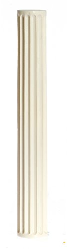 - Dollhouse Miniature Set of 2 fluted Non-Tapered Columns by Falcon Miniatures