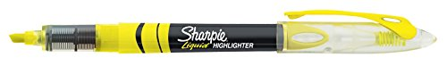 Sharpie Highlighters, Chisel Tip, Fluorescent Yellow, 12-Count by Sharpie (Image #2)