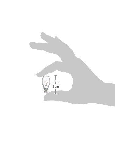 4-Watt 4 Pack Moonrays 95503 Wedge Base Light Bulbs Clear
