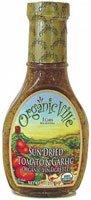 Organicville Organic Vinaigrette Sun Dried Tomato and Garlic -- 8 fl oz - 2PC by Organicville