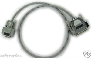 C2G 6ft DB25 Male to DB9 Female Null Modem Cable 03019