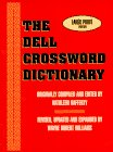 img - for The Dell Crossword Dictionary book / textbook / text book