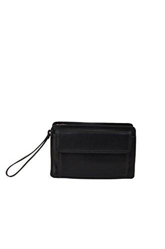 Gérard Henon bolso de cuero gama Soft Line para hombre negro