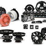 DC Fan Axial Ball Bearing 12V 7V to 13.8V 6.9CFM 27dB 40 X 40 X 10mm 10 Items AFB0412HA-A