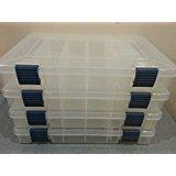 3600 Stowaway Prolatch Fishing Utility Box Pack of 4 Original Blue Latches