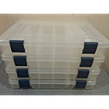 - 3600 Stowaway Prolatch Fishing Utility Box Pack of 4 Original Blue Latches