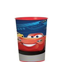 12 X Disney Cars 3 Plastic Reusable Favor Cup 12 count Birthday Party Supplies