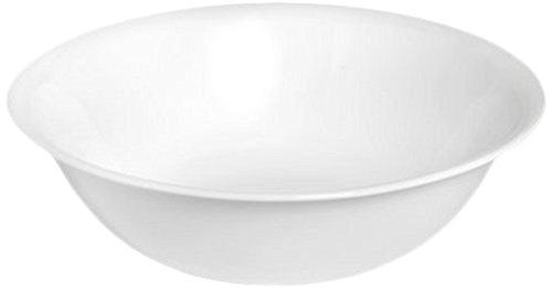 Corelle Livingware 1-quart Serving Bowl, Winter Frost White, Pack of 3
