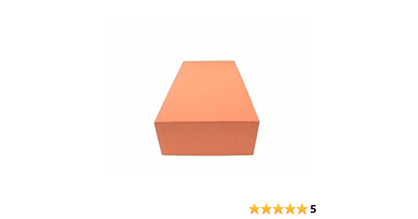 Guardhouse Heavy Duty Quarter Coin Tube Box 12x6x3.75 Orange