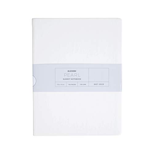Blackwing Pearl Summit Journal, Pearl White Hardcover Dot Grid Notebook, 160 Pg ()
