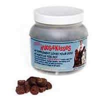 HUGS & KISSES Warren Eckstein's Vitamin Mineral Supplement Treats for Dogs (All My Love My Hugs My Kisses)