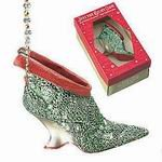 Just the Right Shoe Bejeweled Ornament Mint in Box