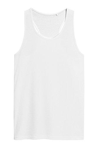 next Mujer Camiseta Sin Mangas Canalé Tee Top Blanco