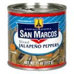 San Sliced Jalapeno Peppers 11OZ (Pack of 24) by San Marco