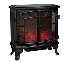 Estufa chimenea eléctrica decorativa con efecto leña 1800/2000W