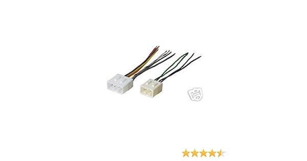 amazon com: stereo wire harness mazda 626 98 99 00 2000 (car radio wiring  installation pa : automotive