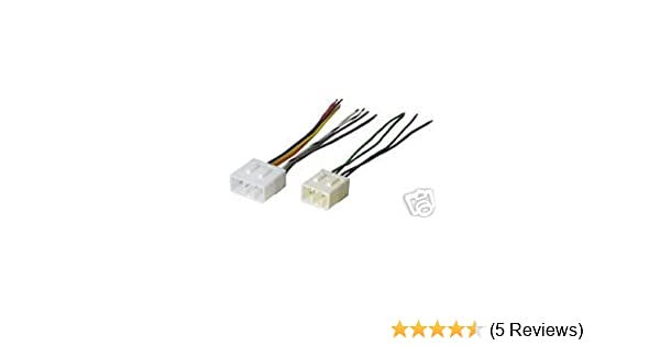 amazon com: stereo wire harness mazda miata 94 95 96 97 (car radio wiring  installation pa : automotive