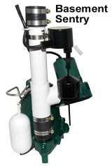 sump pump with battery backup - 9
