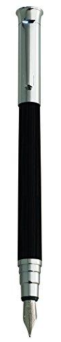 (Editions Oberthur Cedar Medium Fountain Pen Ebony)