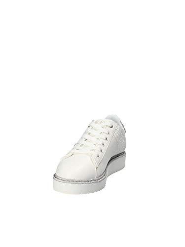 Blanco Mujer De Gimnasia Debora Guess Zapatillas Para RwznY