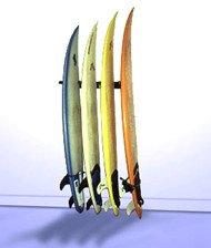 T-Rax Surfboard Wall Rack by T-Rax