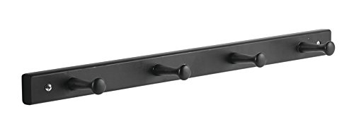 InterDesign Wall Mount Entryway Storage Hooks for Jackets, C