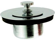 (Price Pfister Lift & Turn Tub Stopper - Chrome - Flange/Stopper,Drain,Turnstop - Price Pfister 35266)
