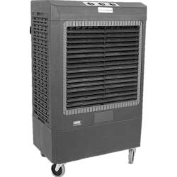 Hessaire Portable Evaporative Cooler - 5300 CFM, 1/3 HP, Model Number MC61V