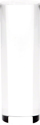 - Plymor Brand Clear Solid Acrylic Round Display Column - 4.5