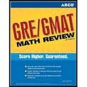 ARCO GRE/GMAT Math Review 6th (sixth) edition Text Only