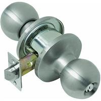 Tell Manufacturing CL100053 Light-Duty Commercial Entry Ball Knob by Tell Manufacturing, Inc.