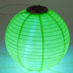 Soji Solar Lantern Color: Green
