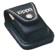 Zippo Lighter Pouch with Loop, Black